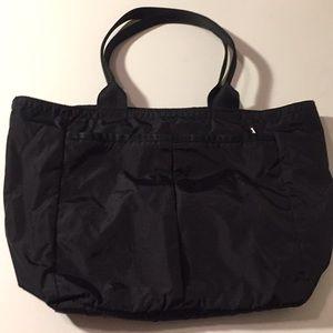 LeSportsac Black Nylon Bag